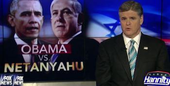 Obama V. Netanyahu, Hannity Style