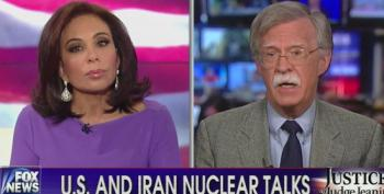 Fox's Pirro Helps Neocon John Bolton Beat The Drums For War With Iran
