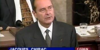 Imagine The French President's Pre-Iraq War Address To Congress