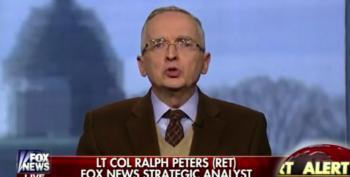 Fox News' Ralph Peters Calls President Obama 'A Good Little Leftist'