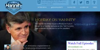 Sean Hannity Helps Ted Cruz Launch His Presidential Campaign