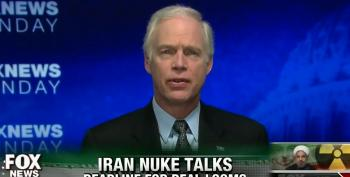 Ron Johnson Dismisses Diplomacy With Iran Over Nuclear Program, Beats War Drums Instead