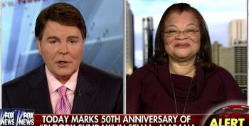 Fox's Alveda King Attacks Obama's Selma Speech: '55 Million Babies' Have Been 'Denied The Right To Vote' Because Of Abortion