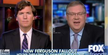 J. Christian Adams Defends Ferguson's Racist P.D. On Fox News