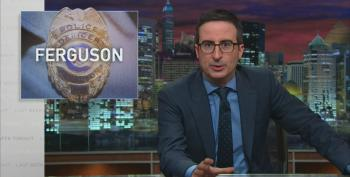 John Oliver Rips Racist Ferguson Police Department: 'F**k Those F**king Assholes!'