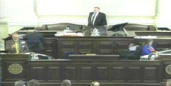 Lawmakers Trample On 4th Graders' Bill As They Watch From The Gallery