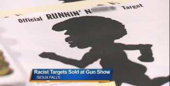 South Dakota Vendor Banned For Selling Racist 'Runnin' N****r' Targets At Gun Show