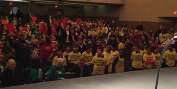 School Choice Group Uses Kids As Props At WI Budget Hearing