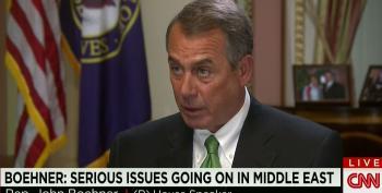 Boehner Blames Obama Administration For Bibi's Disrespectful Appearance Before Congress