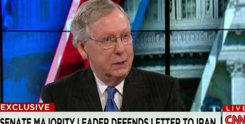 McConnell Blows Off Criticism Over GOP Letter To Iran