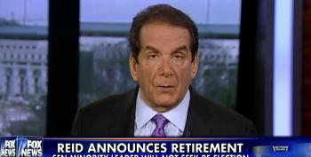 Charles Krauthammer Whines About Harry Reid Blocking GOP's Agenda In The Senate