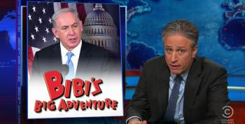 Stewart: GOP Response To Netanyahu Is The Longest Blowjob A Jewish Man Ever Received