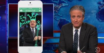 Jon Stewart Mocks Ted Cruz's Jump Into The GOP 2016 Clown Car At Liberty U