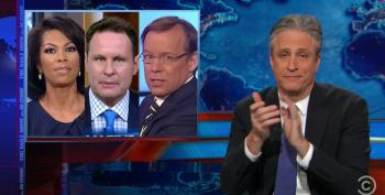 Jon Stewart Rips Fox For Turning Selma Coverage Into 'White Conservative Victimization'