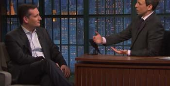 Seth Myers To Ted Cruz: 'I Think The World's On Fire'