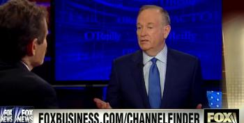 Bill O'Reilly Bemoans The Decline Of American Journalism Standards