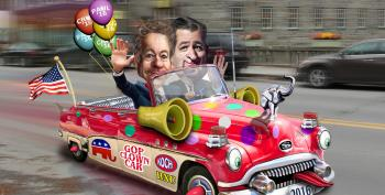 Two GOP 2016 Candidates Pledge Allegiance To The United Billionaires Of America