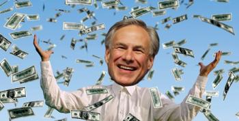 Maybe Greg Abbott Showed Scott Walker His Framed Collection Of Koch Checks