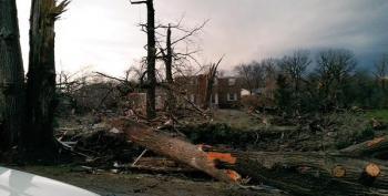 Monster Tornado Hits Northern Illinois