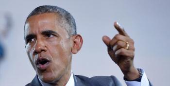 Obama Says Warren On Trade Sounds Like Palin Touting Death Panels