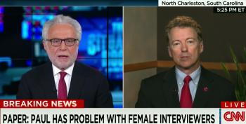 Rand Paul Claims He's An Equal Opportunity Hot Head