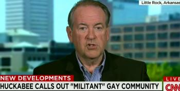 Mike Huckabee Accuses Businesses Of Caving To 'Militant Gay Community'