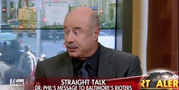 Dr. Phil Blames Parents, Not Reaganomics, For Baltimore Riots