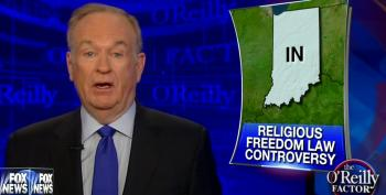 Bill O'Reilly Compares Anti-Discrimination Protections For LGBT People To The Klan