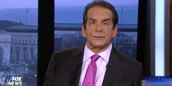Krauthammer Attacks Obama For Cutting Bush's Record Deficits