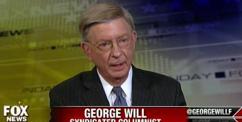 George Will Attacks Obama For Failing To Clean Up Bush's Mess In Iraq