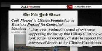 New York Times Op-Ed Tries To Salvage Pretend Clinton Scandals