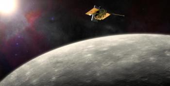 NASA Spacecraft Smashes Into Mercury