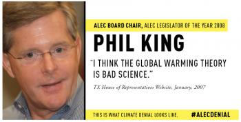 ALEC Lawyers Bark Over Depictions Of Climate Change Denial