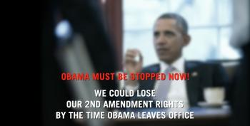 Paranoid Anti-Obama Ad Keeps Calling Alarm On Ammo Proposal Even After It's Withdrawn