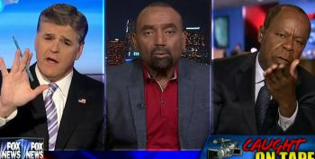 Hannity's Slavery-Loving Pal Blames Walter Scott For His Death – And The Other Guest Walks Off!