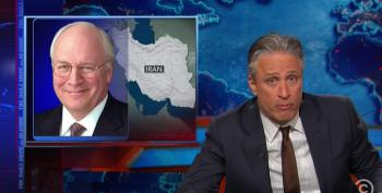 Jon Stewart Rips Apart Dick Cheney For Aiding And Abetting The Iranians