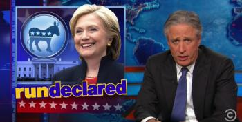 The Daily Show Pokes Fun At The Response To Clinton's 2016 Rollout