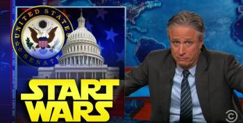 Jon Stewart Whacks Congress For Only Caring About Oversight When It Comes To Making Peace