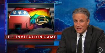 Jon Stewart On The GOP's Evolution, Or Lack Thereof On Gay Marriage