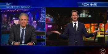 The Daily Show Ridicules Fundraiser For Anti-Gay Pizzeria