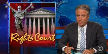 Jon Stewart Knocks Down Anti-Gay Marriage Supreme Court Oral Arguments
