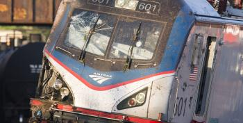Train Derailment Investigation Widens: Did A Projectile Hit The Windshield?