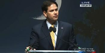 Marco Rubio Outlines GOP's 'Liam Neeson' Foreign Policy At Wingnut Summit In SC