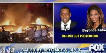 Fox News Appalled That Jay-Z And Beyoncé Bailed Out Protestors