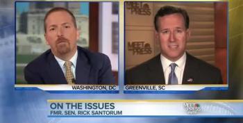 Rick Santorum Twists Democrats' Stance On Immigration Reform