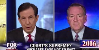Why Didn't Chris Wallace Ask Mike Huckabee About His Duggars Support?