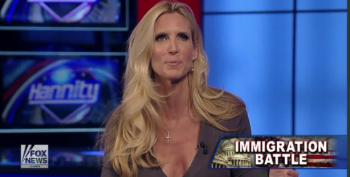 Coulter: Primitive Backwards Immigrants Can't Become Middle Class Americans!