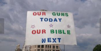 2nd Amendment Rally: Our Guns Today, Our Bible Next?