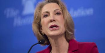 Carly Fiorina Jumps In The GOP Clown Car