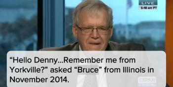 Denny Hastert's Creepy C-SPAN Call: 'Remember Me?'